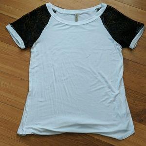 Goo Yoo Women's White Tunic T-shirt